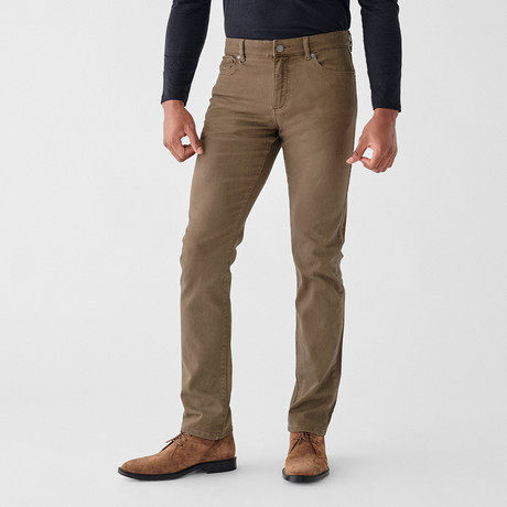 Russell Slim Straight Jeans // Oak Moss (29WX30L)