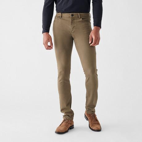 Nick Slim Jeans // Olive Drab (29WX30L)