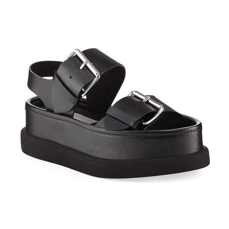 Stella McCartney // Buckle Sandals // Black (US: 5)
