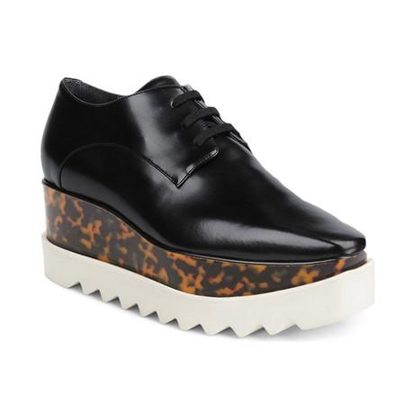 Stella McCartney // Elyse Cheetah Sneakers // Black (US: 4)