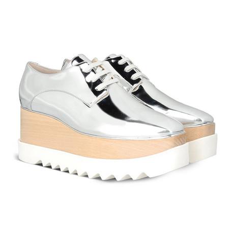 Stella McCartney // Elyse Sneakers // Silver (US: 5)