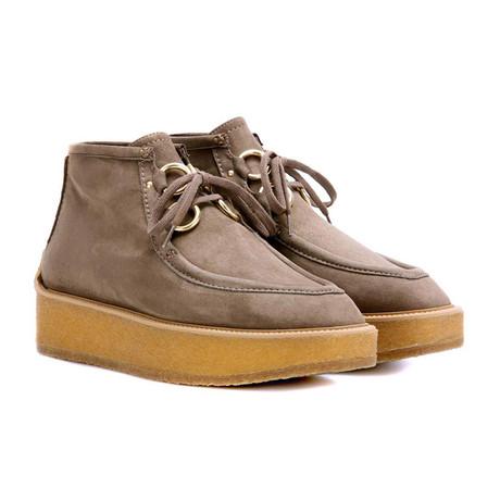 """Stella McCartney // Suede """"Tlingit"""" Sneakers // Brown (US: 7)"""