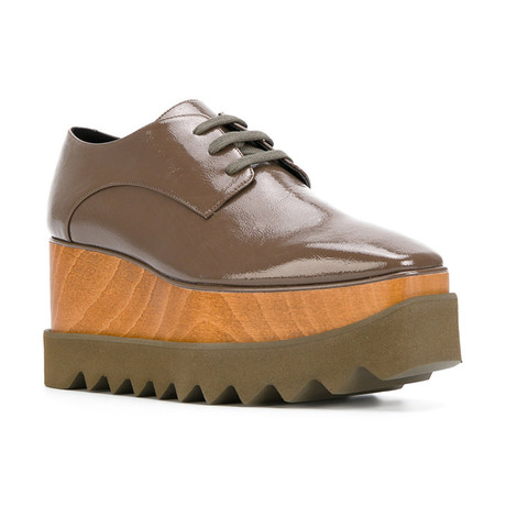 Stella McCartney // Elyse Sneakers // Brown (US: 5)