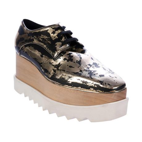 Stella McCartney // Elyse Sneakers // Gold (US: 5)