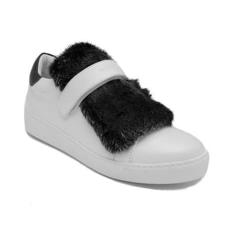 Moncler // Lucie Sneakers // Black + White (US: 5)