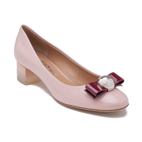 Salvatore Ferragamo // Patent Leather Pumps // Pink (US: 5)