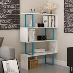 Adriana Bookcase (Blue + White)