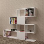 Karlin Bookcase (White)