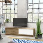 New York TV Stand (Gray Oak)