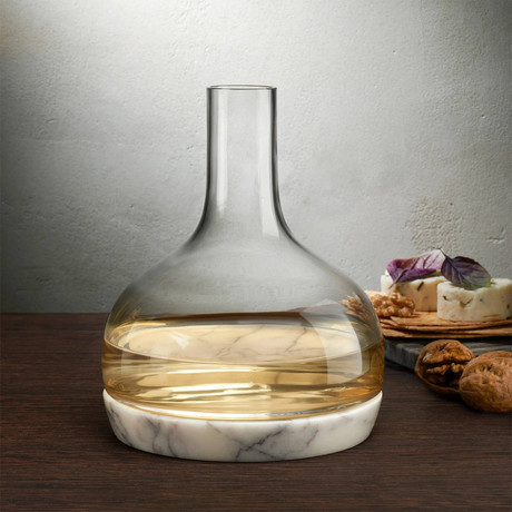 Nude Chill Carafe + Marble Cooler 1250 Cc
