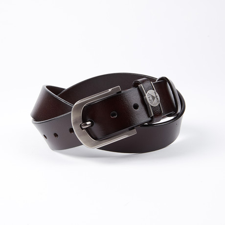 Ellsworth Leather Belt // Mahogany