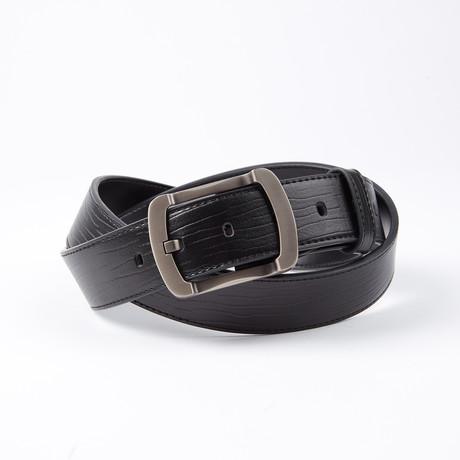 Damien Leather Belt // Black
