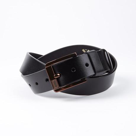 Alden Leather Belt // Black
