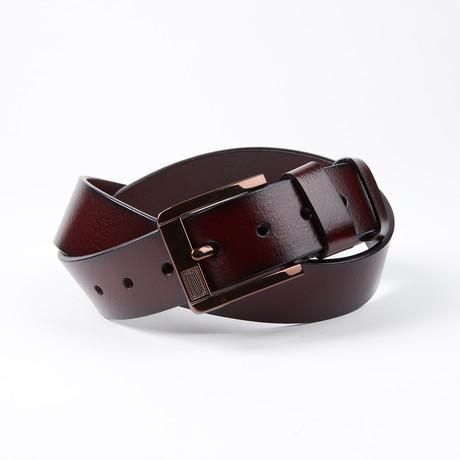 Raul Leather Belt // Dark Brown
