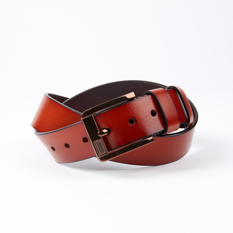 Waldo Leather Belt // Cognac