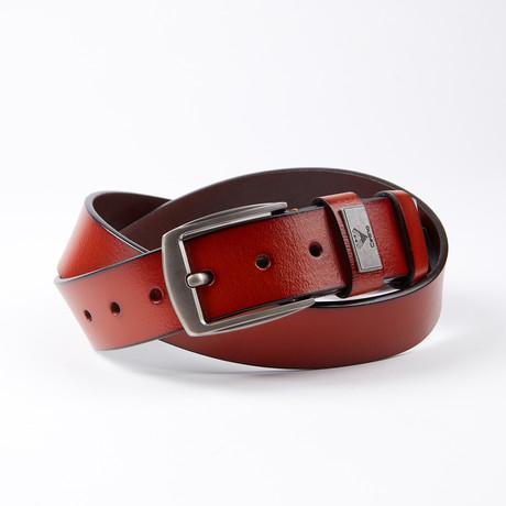 Lynwood Leather Belt // Cognac
