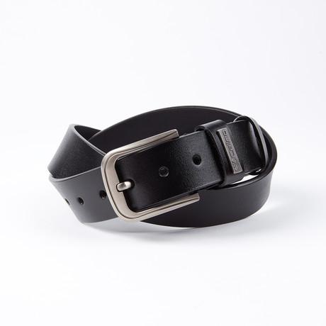 Michael Leather Belt // Black