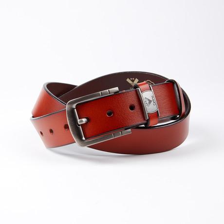 Jarrett Leather Belt // Cognac