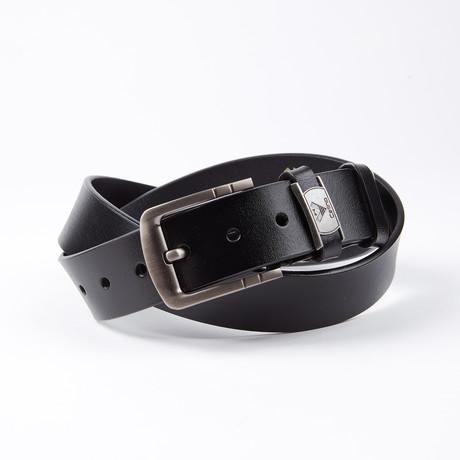 Doyle Leather Belt // Black