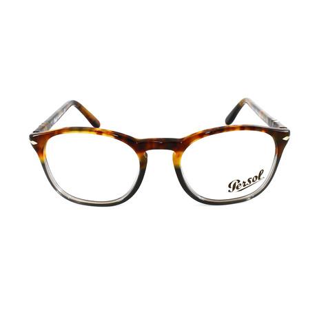 Men's Optical PO3013V // Brown Striped