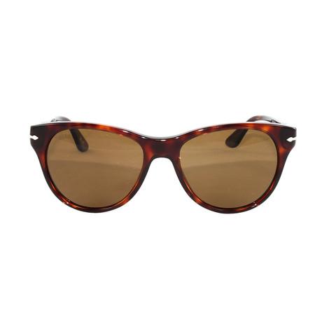Men's PO3134S Polarized Sunglasses // Havana Brown