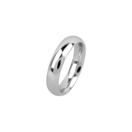Cobalt Chrome Ring // 5mm (Size: 9)