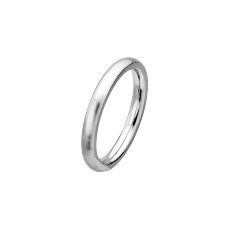 Cobalt Chrome Matte Ring // 3mm (Size: 9)