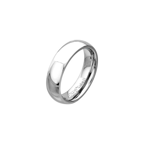 Cobalt Chrome Ring // 6mm (Size: 9)