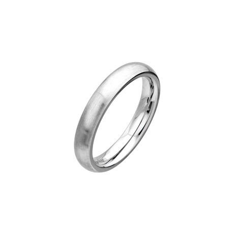 Cobalt Chrome Matte Ring // 4mm (Size: 9)