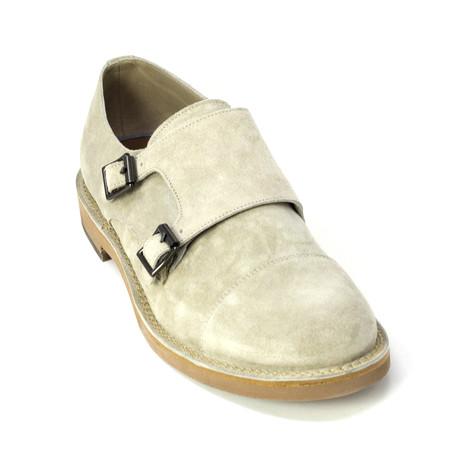 Lucas Monk Strap Shoes // Cream (Euro: 39)