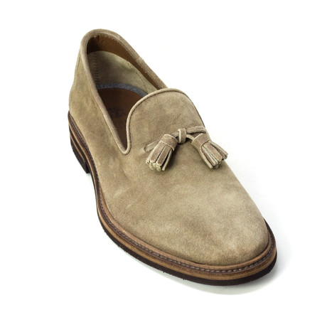 Lamberto Dress Shoes // Brown (Euro: 39)