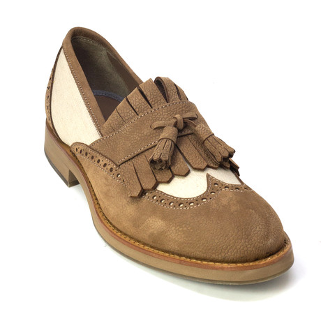 Giuliano Loafers // Brown (Euro: 39)