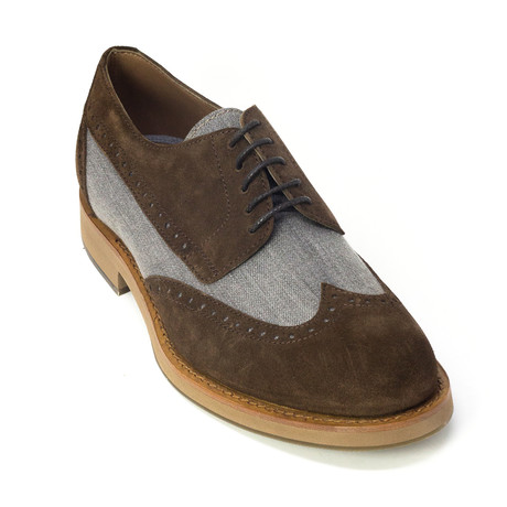 Adolfo Dress Shoes // Brown, Gray (Euro: 39)