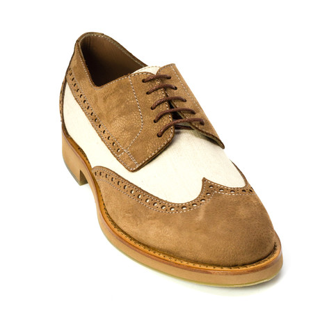 Tiernay Dress Shoes // Brown, White (Euro: 39)