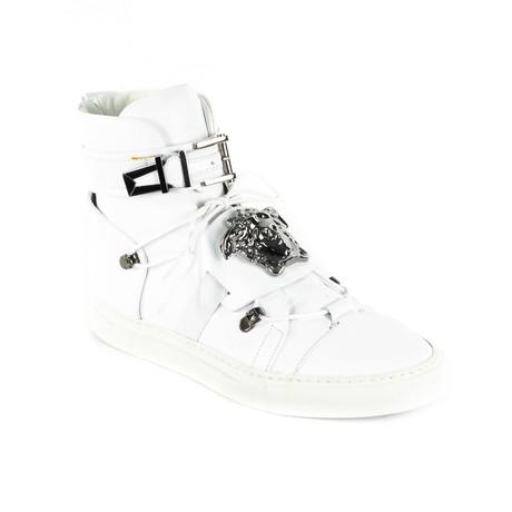 High-Top Sneakers V1 // White (Euro: 38)