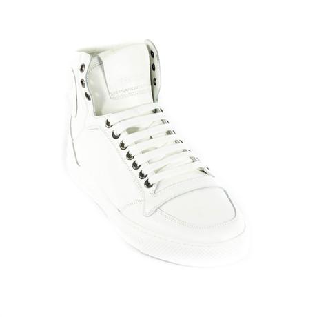 Sleek High-Top Sneakers // White (Euro: 38)