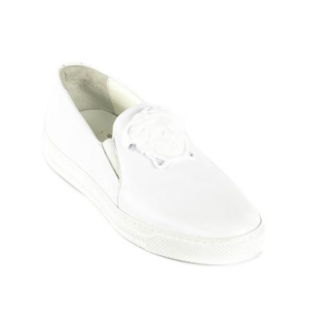 Slip-On Sneakers // White (Euro: 38)