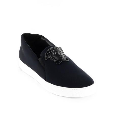 Slip-On Sneakers V1 // Black (Euro: 38)