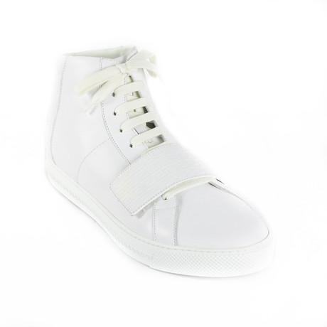 Mid-Top Sneakers // White (Euro: 38)