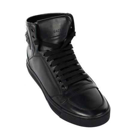 Sleek High-Top Sneakers // Black (Euro: 38)