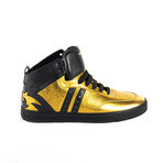 High-Top Sneakers // Gold (Euro: 38)