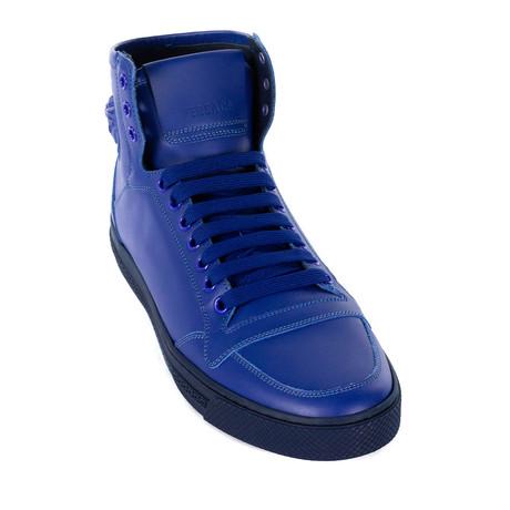 Sleek High-Top Sneakers // Blue (Euro: 38)
