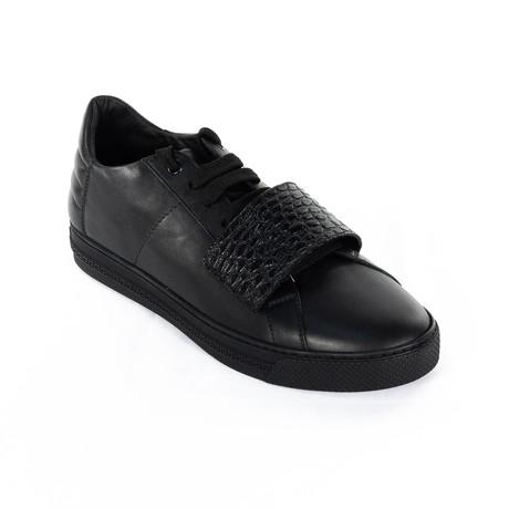 Velcro Sneakers // Black (Euro: 38)