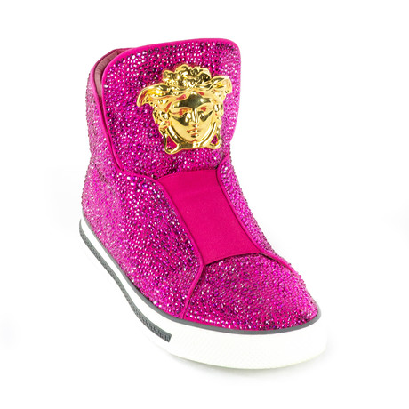 Glitter Sneakers // Pink (Euro: 38)