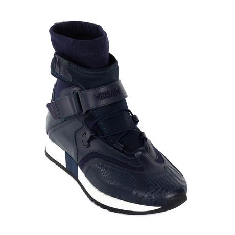 Sock Sneakers // Navy (Euro: 38)