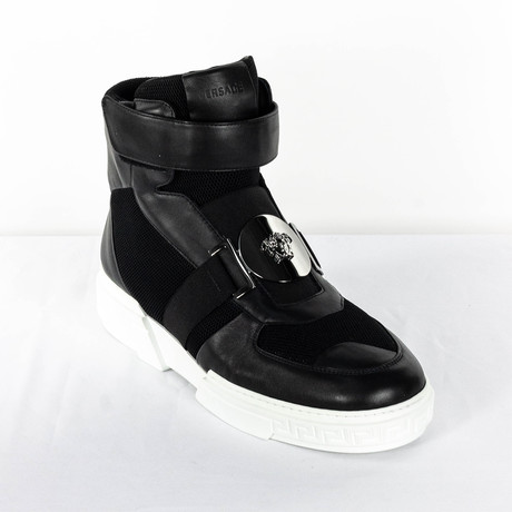 High-Top Sneakers V2 // Black (Euro: 38)