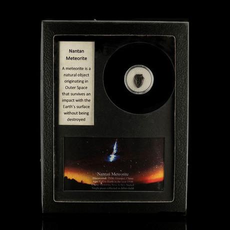 Nantan Meteorite in Collectors Box