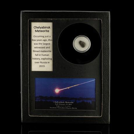 Chelyabinsk Meteorite in Collectors Box