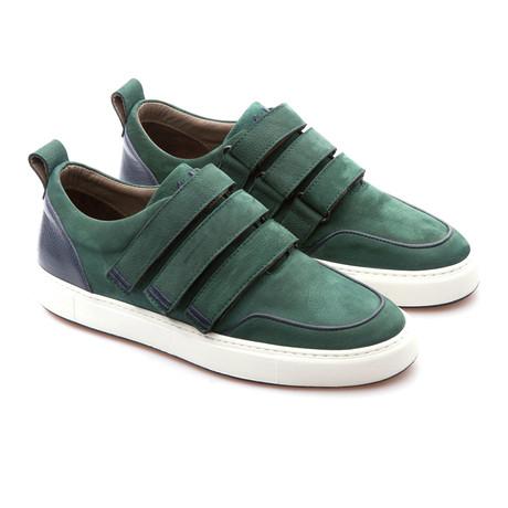 Dax Low Top Sneaker // Duck Green (Euro: 39)