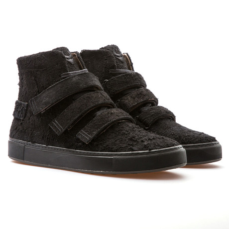 Haze High Top Sneaker // Black Suede (Euro: 39)